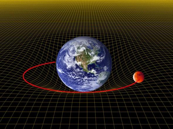 Warped_grid-earth-moon1-590x442