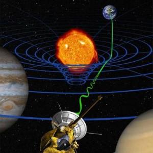 تصویری هنری - نسبیت عام اینشتین.