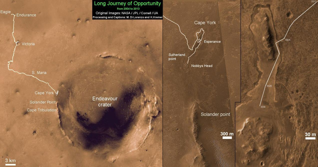Opportunity-Route-map-Sol-3330c_Ken-Kremer