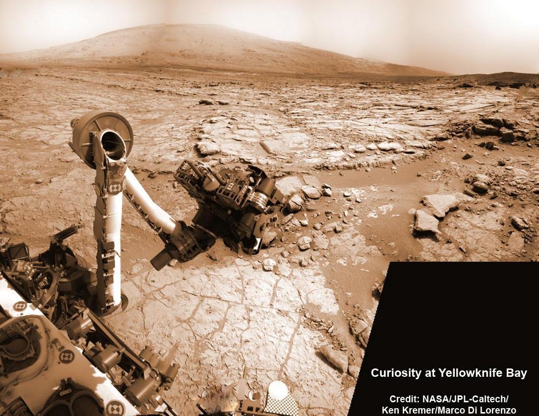 دانشمندان معتقدند مریخ نورد کنجکاوی با خود مهاجران ریزمیکروسکوپی را به مریخ برده است.