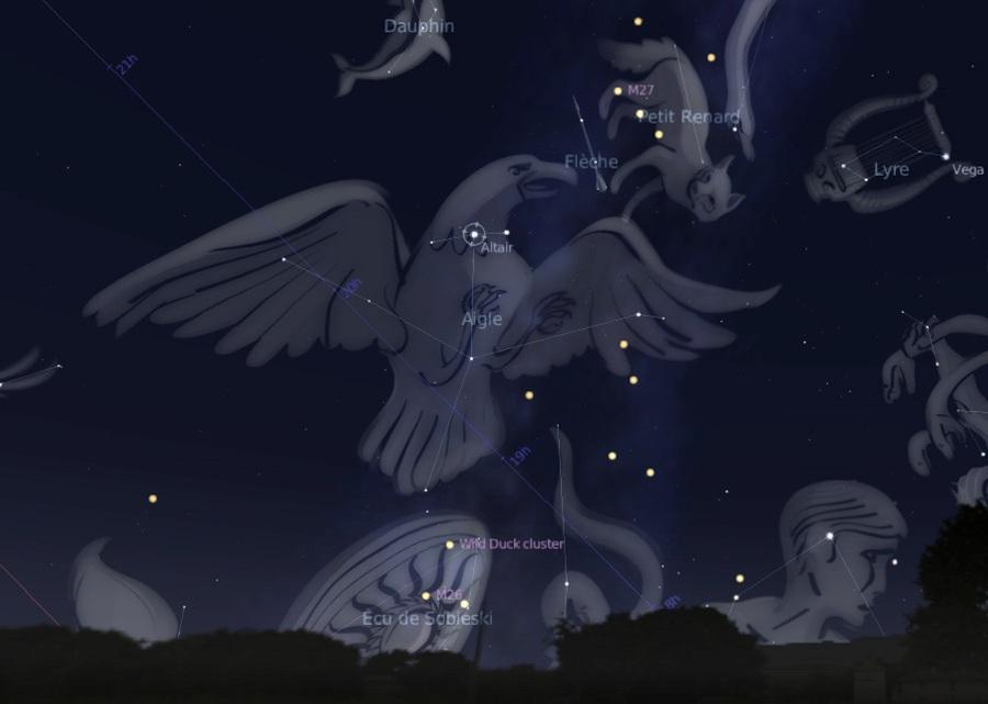 Aquila Constellation