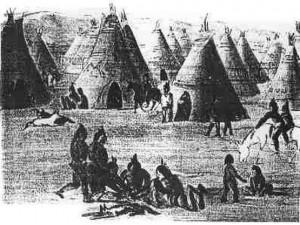 ancient Klamath indian