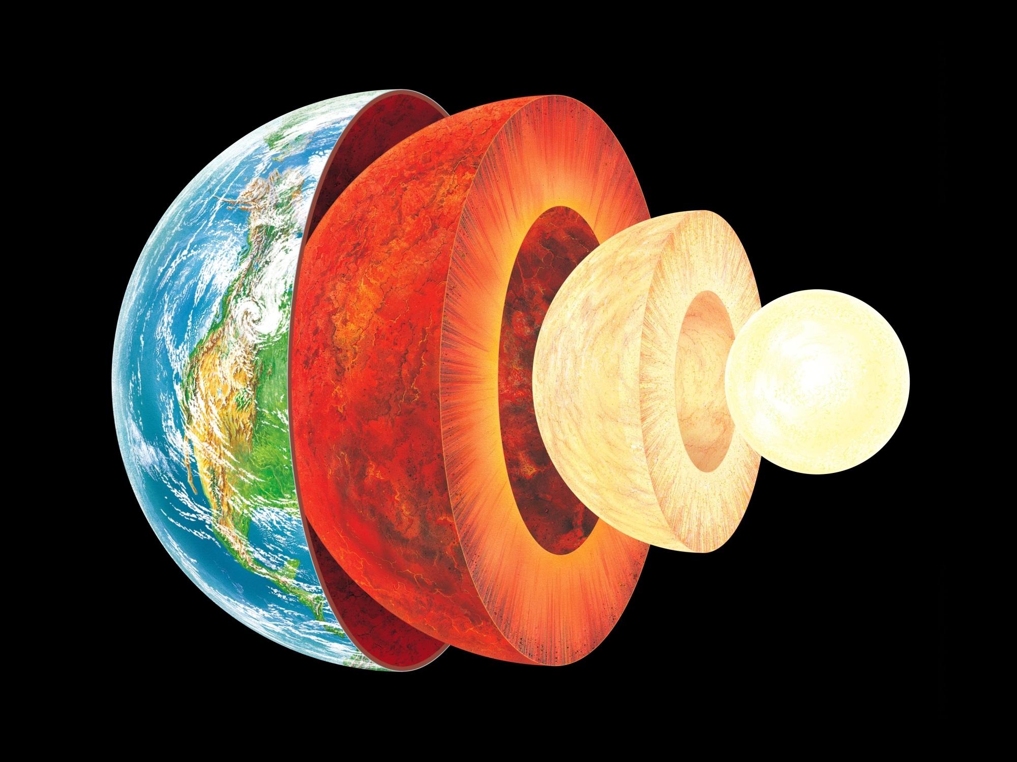 ساختار لایه های مختلف زمین شامل سه لایهٔ اصلی پوسته، گوشته و هسته میباشد و لایههای غیراصلی پوستهٔ قارهای، پوستهٔ اقیانوسی، سنگکره، سستکره، گوشتهٔ بالایی، گوشتهٔ پایینی، هسته بیرونی و هسته درونی است.