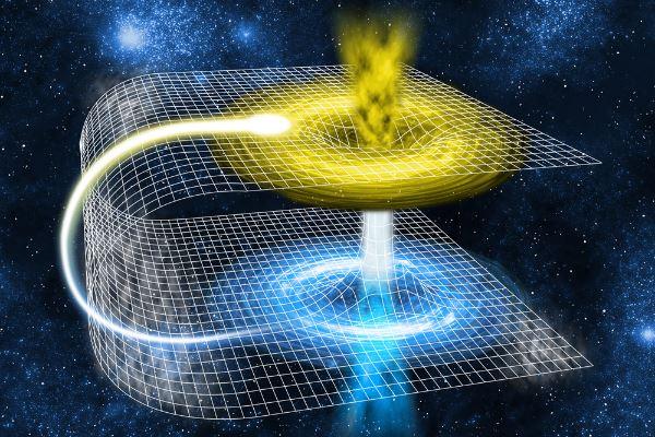 """محققان دانشگاه کوئینزلند در استرالیا توانستند پدیده """"سفر در زمان"""" را برای ذرات نور (فوتون ها) از طریق کرمچاله شبیه سازی کنند."""