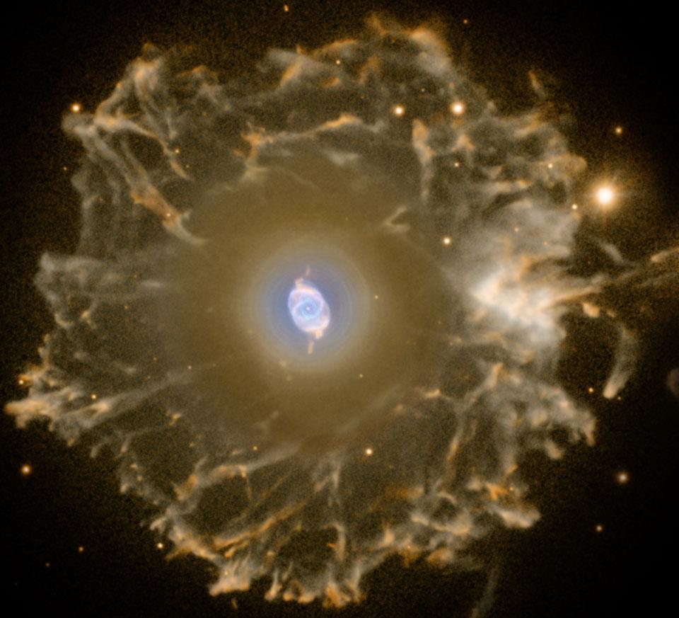 اعتبار و کپی رایت تصویر: R. Corradi (گروه آیزاک نیوتن)، تلسکوپ نوری شمال اروپا