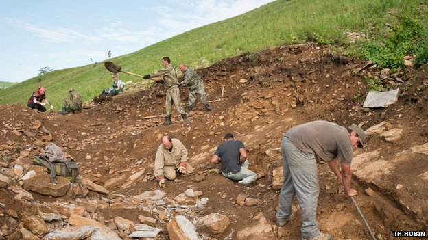 پژوهشگران بلژیکی و روسیه منطقهای را در کولیندا، جنوب شرق سیبری، کشف کردند که مملو از استخوانهای دیرین دایناسورهاست