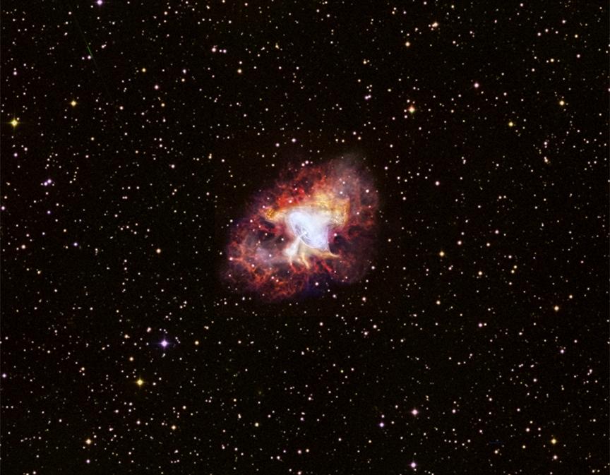 اعتبار عکس: NASA, Chandra X-ray Observatory, SAO, DSS