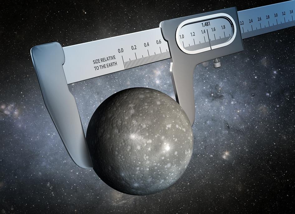 اندازه گیری های دقیق دانشمندان نشان می دهد که سیاره Kepler-93b تقریبا 1.481 برابر زمین میباشد و به عنوان یک ابر زمین شناخته می شود.