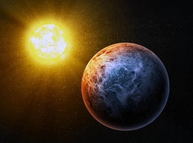 تصویری هنری از یک سیاره بیگانه، دانشمندان معتقدند حیات بیگانه در جایی دوردست از ما در جریان است.