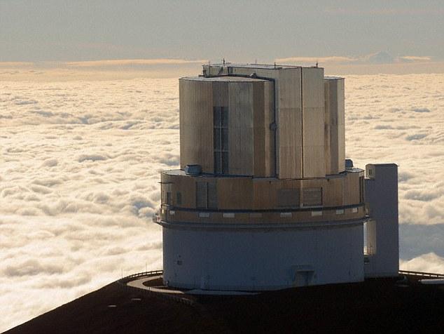این کشف با استفاده از تلسکوپ سوبارو که در تصویر مشاهده می کنید بدست آمده است.