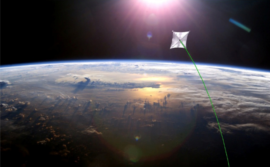 """طرح ناسا برای """"بادبان خورشیدی"""" ،این بادبان می تواند زمین را در مدارش حرکت دهد."""