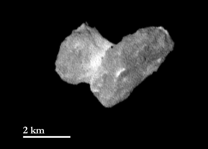 تصویر جدید فضاپیمای روزتا از دنباله دار چوموروف که به تازگی منتشر کرده است.