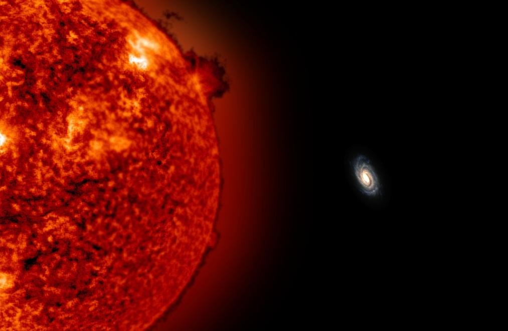 یک تیم اخترشناسی دو ستاره غول پیکر کشف کردند که در فاصله بسیار دور از کهکشان ما قرار دارند.