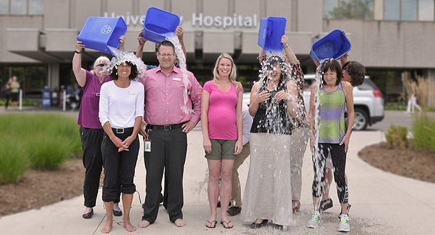 LHSCs-motor-neuron-disease-team-conquers-the-ALS-Ice-Bucket-Challenge