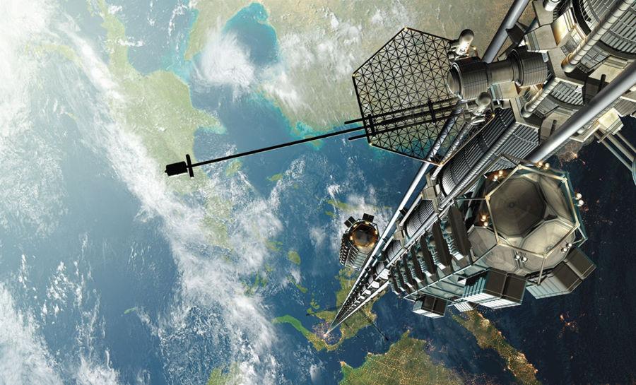 آسانسور فضایی براحتی می تواند انسان و محموله ها را به فضا انتقال دهد.