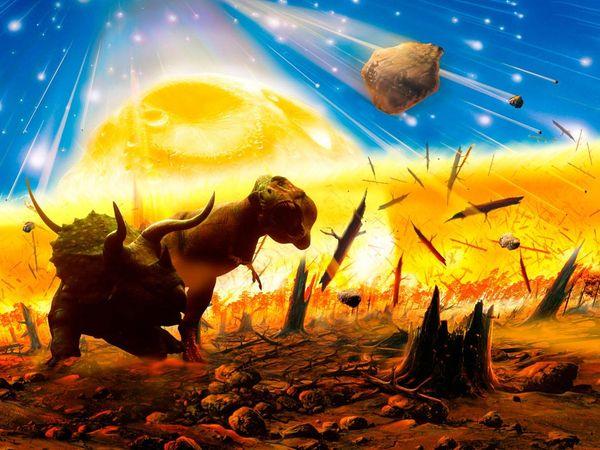 پژوهشهای جدید نشان می دهد سقوط یک شهابسنگی غولپیکر بر زمین که باعث نابوید دایناسورها شد، همچنین باعث رشد شدید گیاهان امروزی شده است.