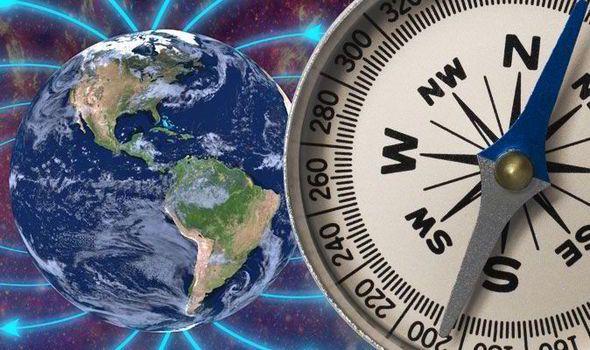 وارونه شدن میدان مغناطیسی زمین به این معنی است که قطبنماها به جای شمال، جنوب را نمایش خواهندداد