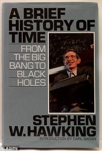 """کتاب علمی """"تاریخچه ی کوتاه زمان"""" نوشتۀ استیون هاوکینگ یکی از کتب ارزشمند در رای گیری شناخته شد."""
