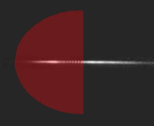 در افق: چگالش بوز-اینشتینِ مانند یک سیاهچاله لیز تابش می کند