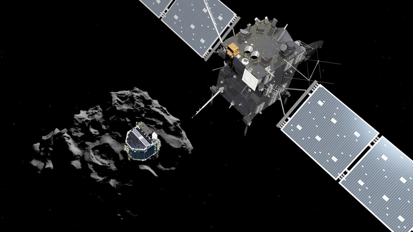فضاپیمای روزتا تا نزدیک تر شدن دنباله دار به خورشید در مدار آن باقی خواهد ماند.