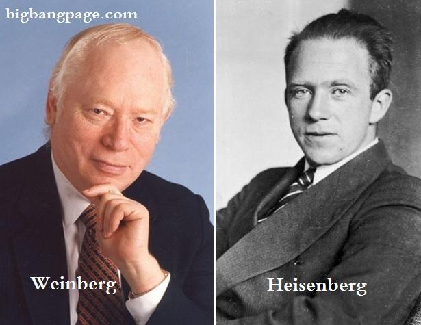 Weinberg and Heisenberg