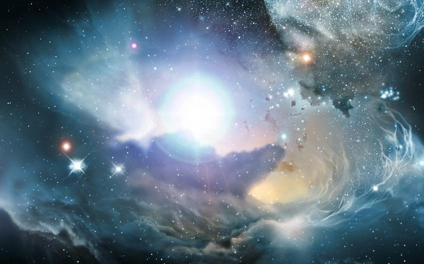 یک تصویر هنری از جهان اولیه. تصویر برگرفته از ناسا
