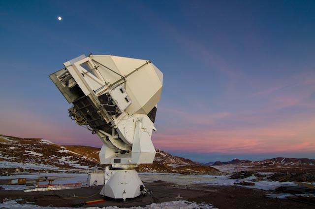 این تحقیقات با استفاده از آشکارساز تلسکوپ هوان تران که در صحرای آتاکامای شیلی قرار دارد انجام شده است.