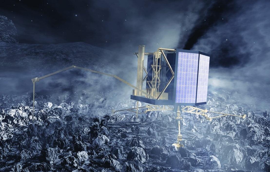 کاوشگر فیلای در انتظار تابش نور خورشید است تا بتواند باتری های خود را شارژ کند و ماموریت را ادامه دهد.