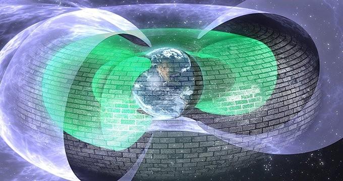 سپر طبیعی و تازه کشف شدۀ زمین که مانع از ورود الکترونهای نابودگر به آن می شود.