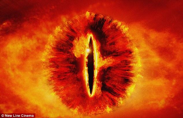 """اسم این جرم کیهانی بر گرفته از """"چشم سائورون"""" در فیلم ارباب حلقه ها میباشد."""