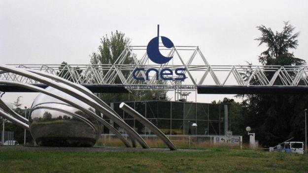 مرکز فضایی فرانسه