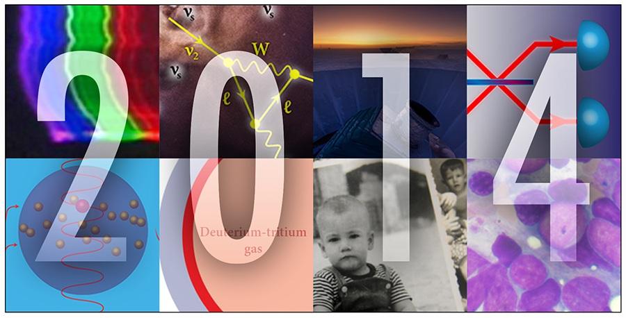 تصاویری از رویدادهای فیزیک سال ۲۰۱۴