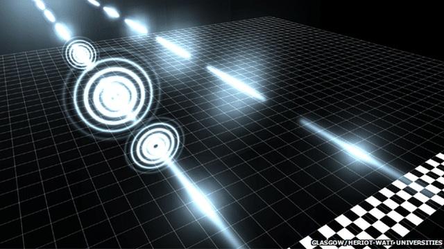سرعت فوتونی که از دستگاهی ویژه عبور داده شد، کندتر از فوتونی بود که در فضای معمول حرکت میکرد