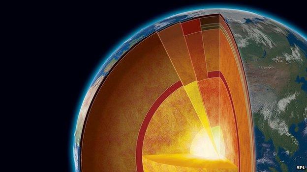 کشف لایه ای جدید در قلب زمین