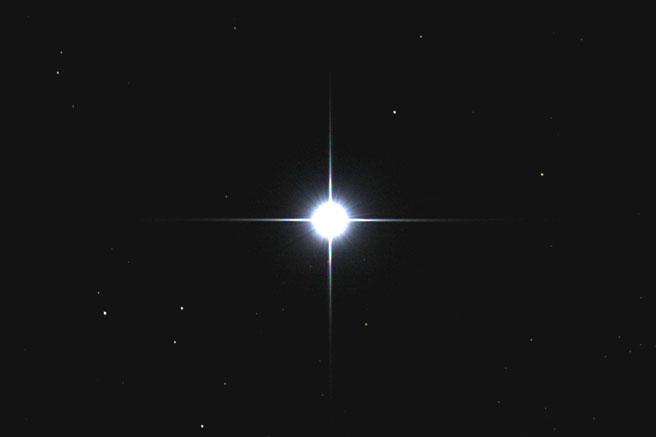 تصویری از ستاره ی آخرالنهر (Achernar)