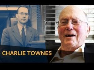 تصویری از چارلز تاونز یکی از مخترعان لیزر که چندی پیش در سن 99 سالگی در گذشت.