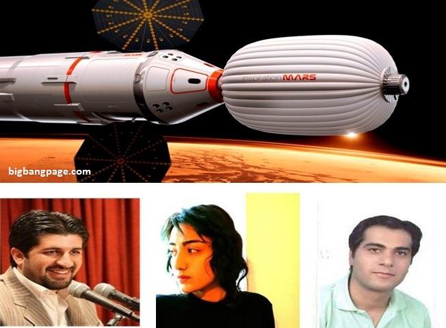 از چپ به راست: سعید قندهاری، الهه نوری و صادق مدرسی