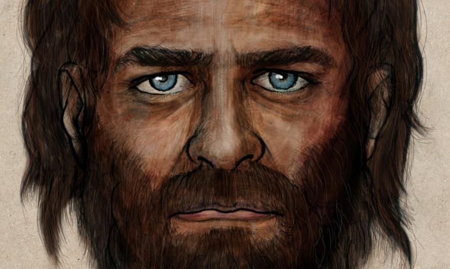 تصویری شبیه سازی شده از یک مرد در 7000 سال گذشته