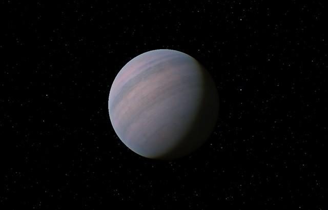 تصویری هنری از سیاره شبه زمین Gliese 581d