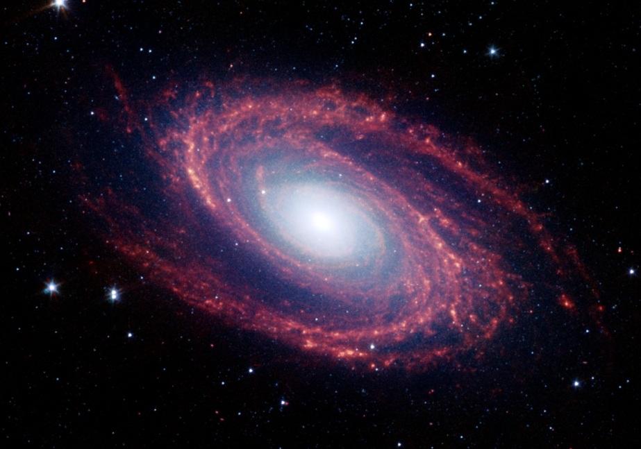 تصویری از کهکشان مارپیچی مسیه 81