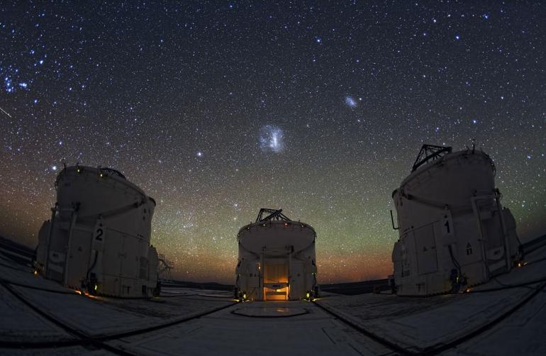 این کشفیات در نزدیکی ابر ماژلانی بزرگ و کوچک مشاهده شده اند.
