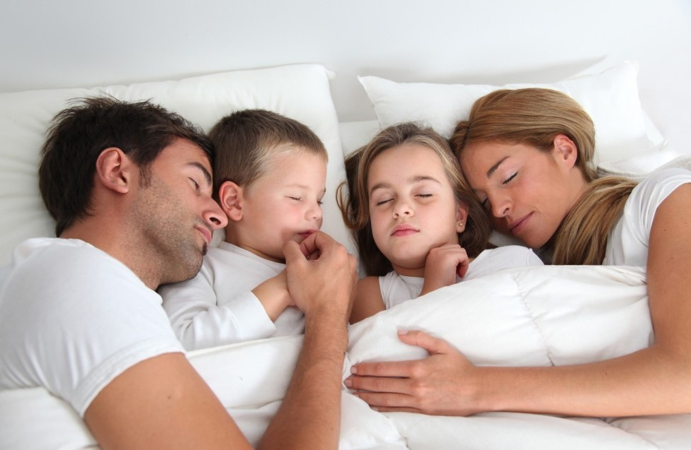 family-sleeping