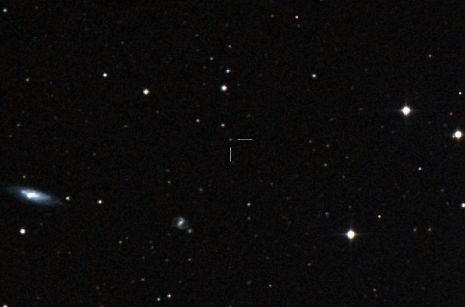 تصویری واقعی از ستاره ی فوق سریع US 708