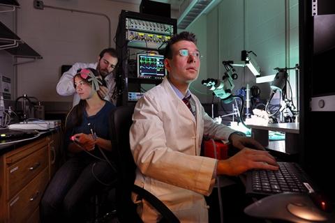 """تصویری از """"فلاویو فرولیش"""" و تیم تحقیقاتی این پژوهش"""