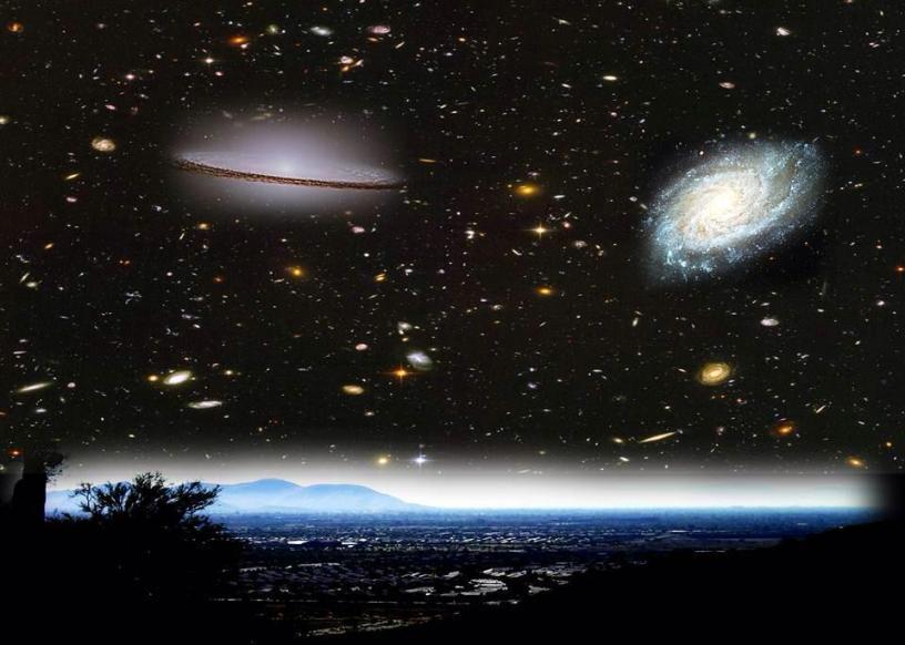 محققان اعلام کردند، در بررسی 100 هزار کهکشان اثری از تمدن های پیشرفته ی فضایی نیافتند.