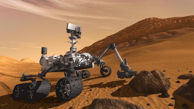 مریخ نورد کنجکاوی در سیاره ی سرخ شواهدی از آب مایع کشف کرد.