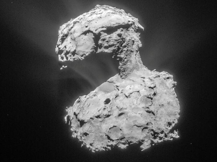 دنباله دار چوریوموف در ۱۴ مارس ۲۰۱۵ فضاپیمای روزتا را به دام گرانش خود انداخت.
