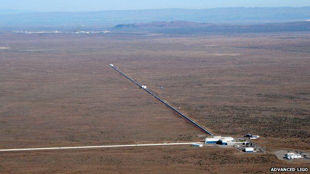 تصویری از پایگاه پروژه ی LIGO