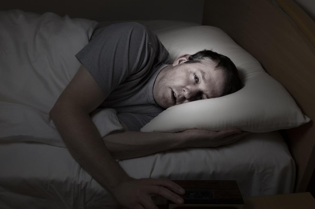 Mature Man Cannot Get To Sleep