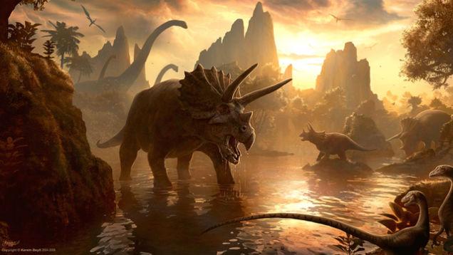 معمای انقراض دایناسورها حل میشود